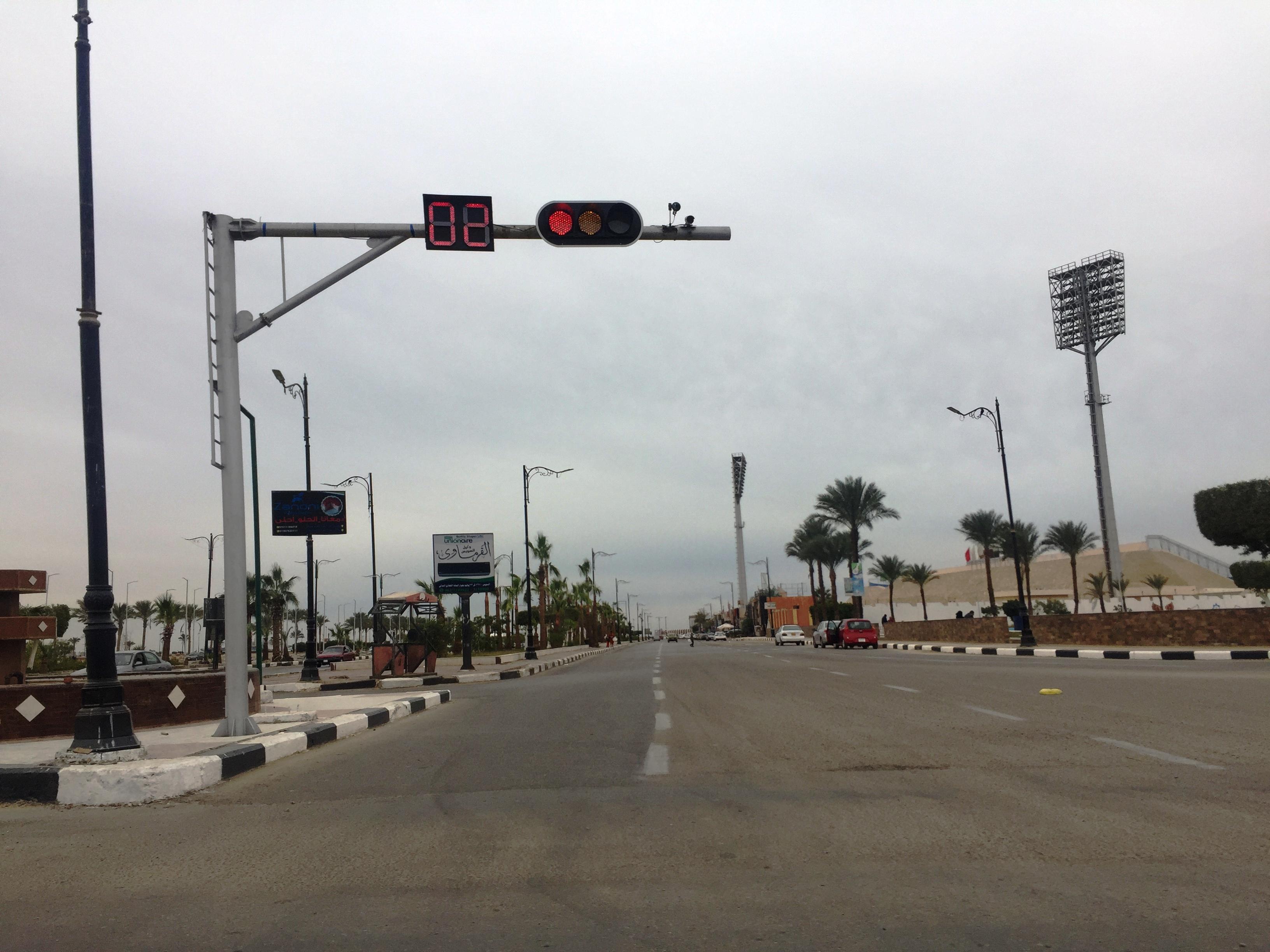 الشوارع المحيطة باستاد السويس الرياضى (7)