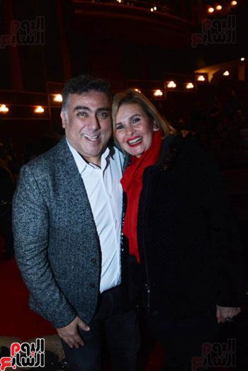 العرض الخاص لمسرحيه محمد هنيدى (2)