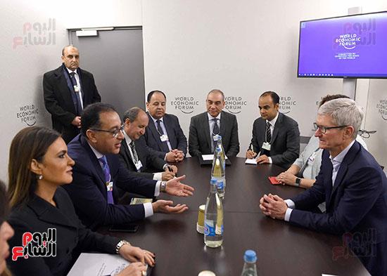 رئيس الوزراء فى مؤتمر دافوس الاقتصادى العالى (8)