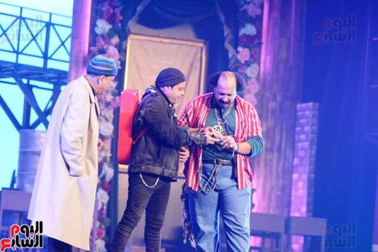 العرض الخاص لمسرحيه محمد هنيدى (11)