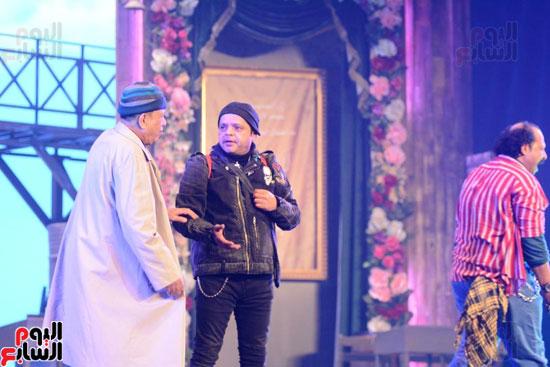 العرض الخاص لمسرحيه محمد هنيدى (10)