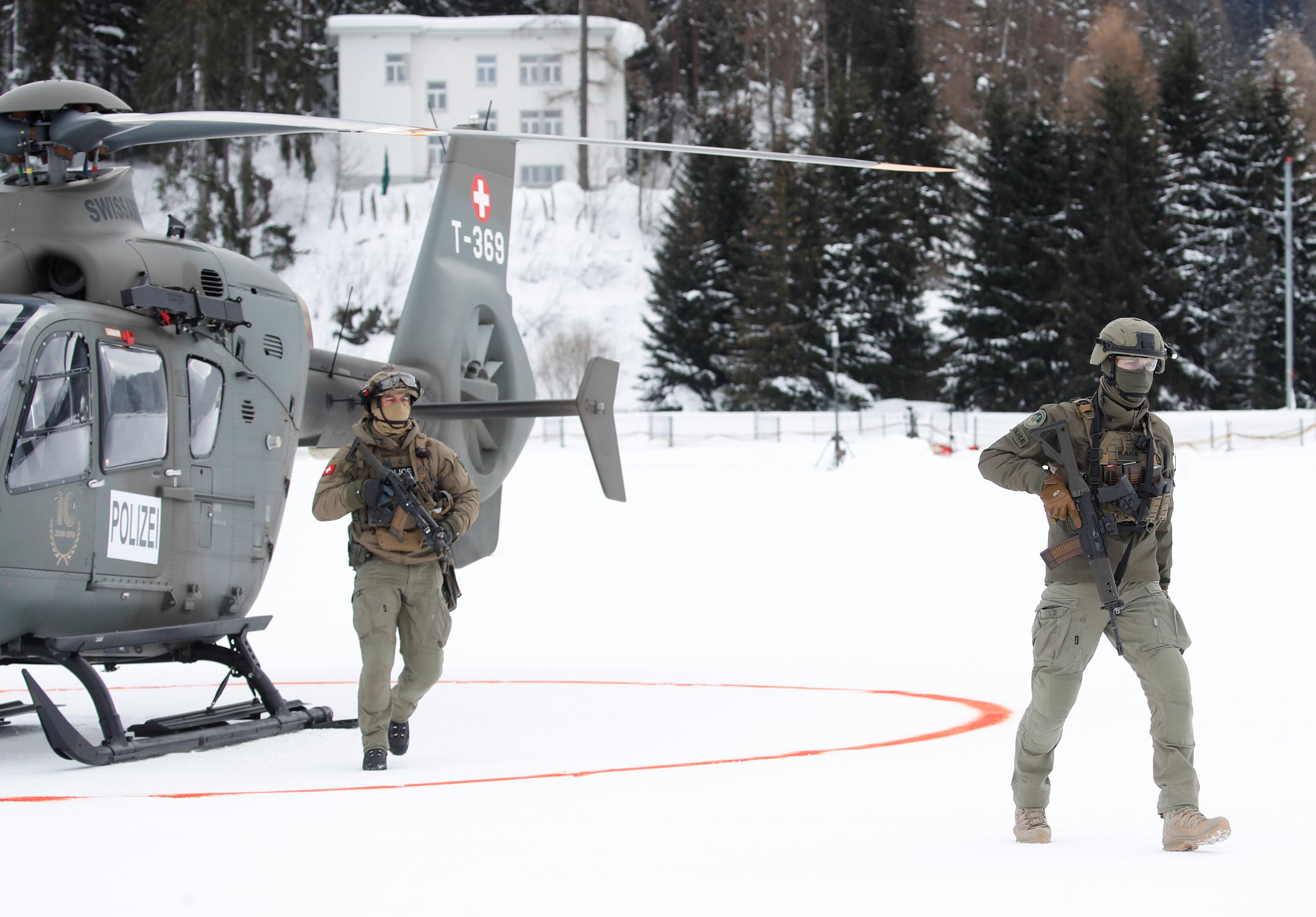 الجيش السويسرى