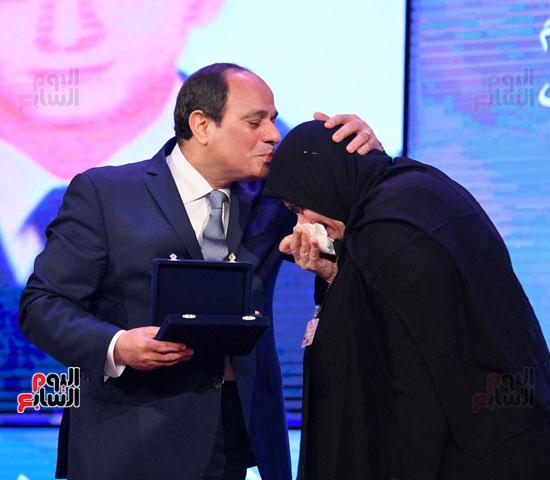 احتفالات عيد الشرطة بحضور الرئيس السيسى (13)