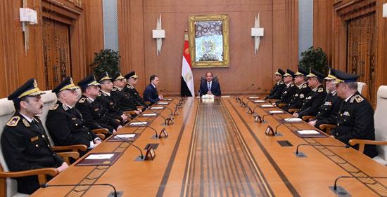 احتفالات عيد الشرطة بحضور الرئيس السيسى (8)