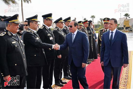 احتفالات عيد الشرطة بحضور الرئيس السيسى (12)
