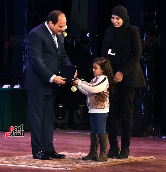 احتفالات عيد الشرطة بحضور الرئيس السيسى (17)