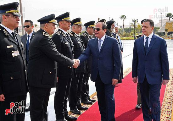 احتفالات عيد الشرطة بحضور الرئيس السيسى (9)