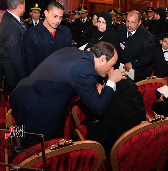 احتفالات عيد الشرطة بحضور الرئيس السيسى (11)