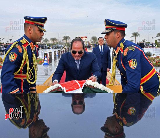 احتفالات عيد الشرطة بحضور الرئيس السيسى (7)