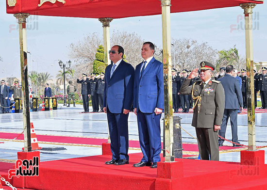 احتفالات عيد الشرطة بحضور الرئيس السيسى (3)
