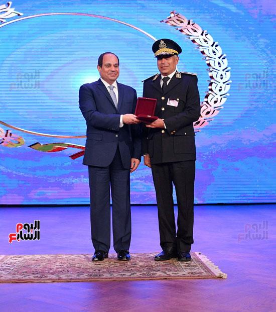 احتفالات عيد الشرطة بحضور الرئيس السيسى (16)