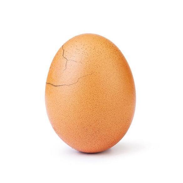 أشهر بيضة على انستجرام