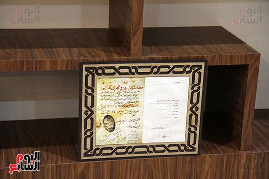 متحف مخطوطات الأزهر الشريف بمعرض القاهرة للكتاب 2019 (14)