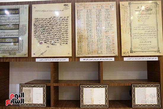 متحف مخطوطات الأزهر الشريف بمعرض القاهرة للكتاب 2019 (6)