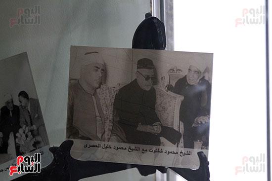مقتنيات الشيخ محمود شلتوت فى جناح الأزهر فى معرض القاهرة للكتاب 2019 (6)