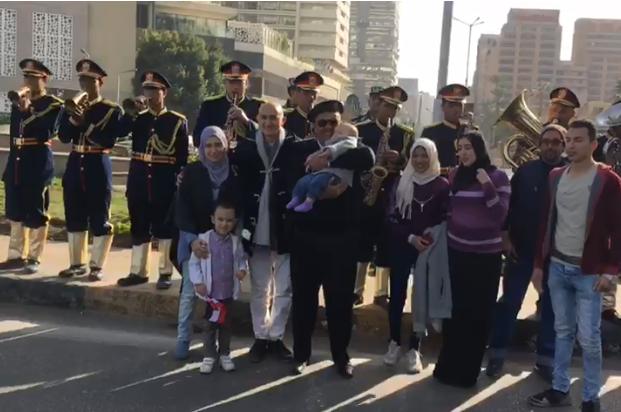 احتفالات مديرية امن الجيزة بعيد الشرطة