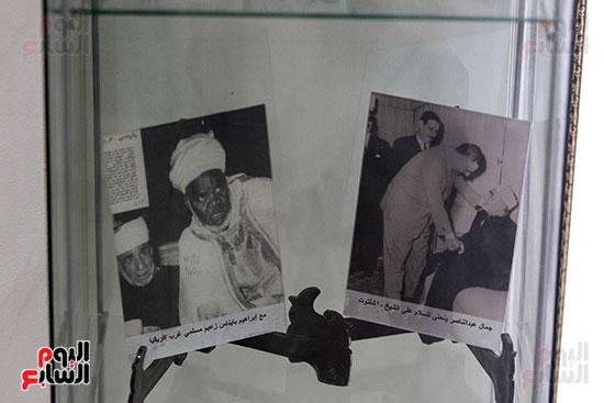 مقتنيات الشيخ محمود شلتوت فى جناح الأزهر فى معرض القاهرة للكتاب 2019 (7)