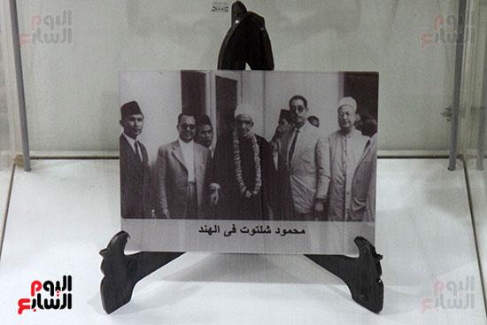 مقتنيات الشيخ محمود شلتوت فى جناح الأزهر فى معرض القاهرة للكتاب 2019 (4)