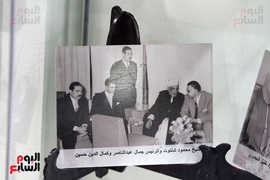 مقتنيات الشيخ محمود شلتوت فى جناح الأزهر فى معرض القاهرة للكتاب 2019 (5)