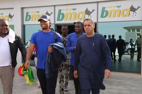 صامويل ايتو فى موريتانيا