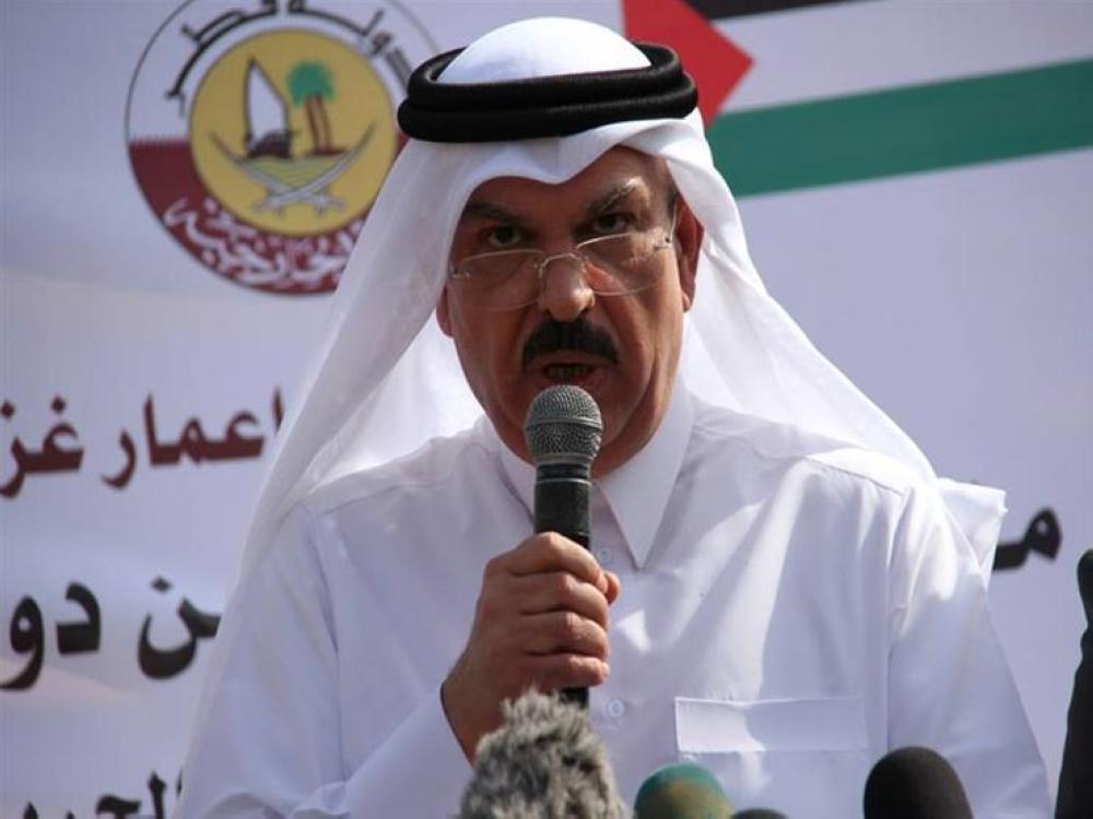 المبعوث القطري إلى قطاع غزة محمد العمادى
