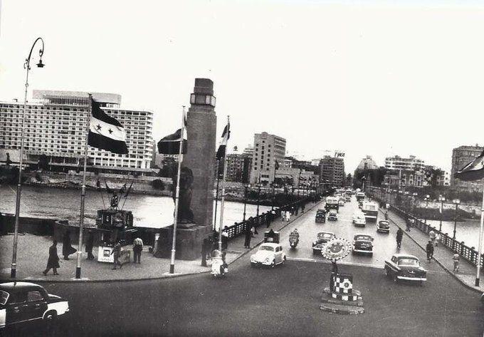 كوبرى قصر النيل عام 1960