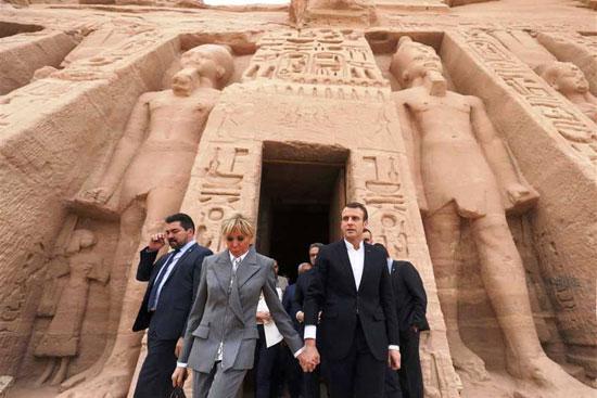 جولة-الرئيس-الفرنسى-بمعبد-أبوسمبل-(3)