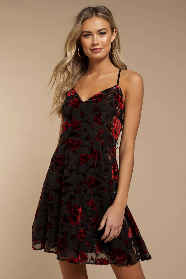 black-reckless-love-midi-dress
