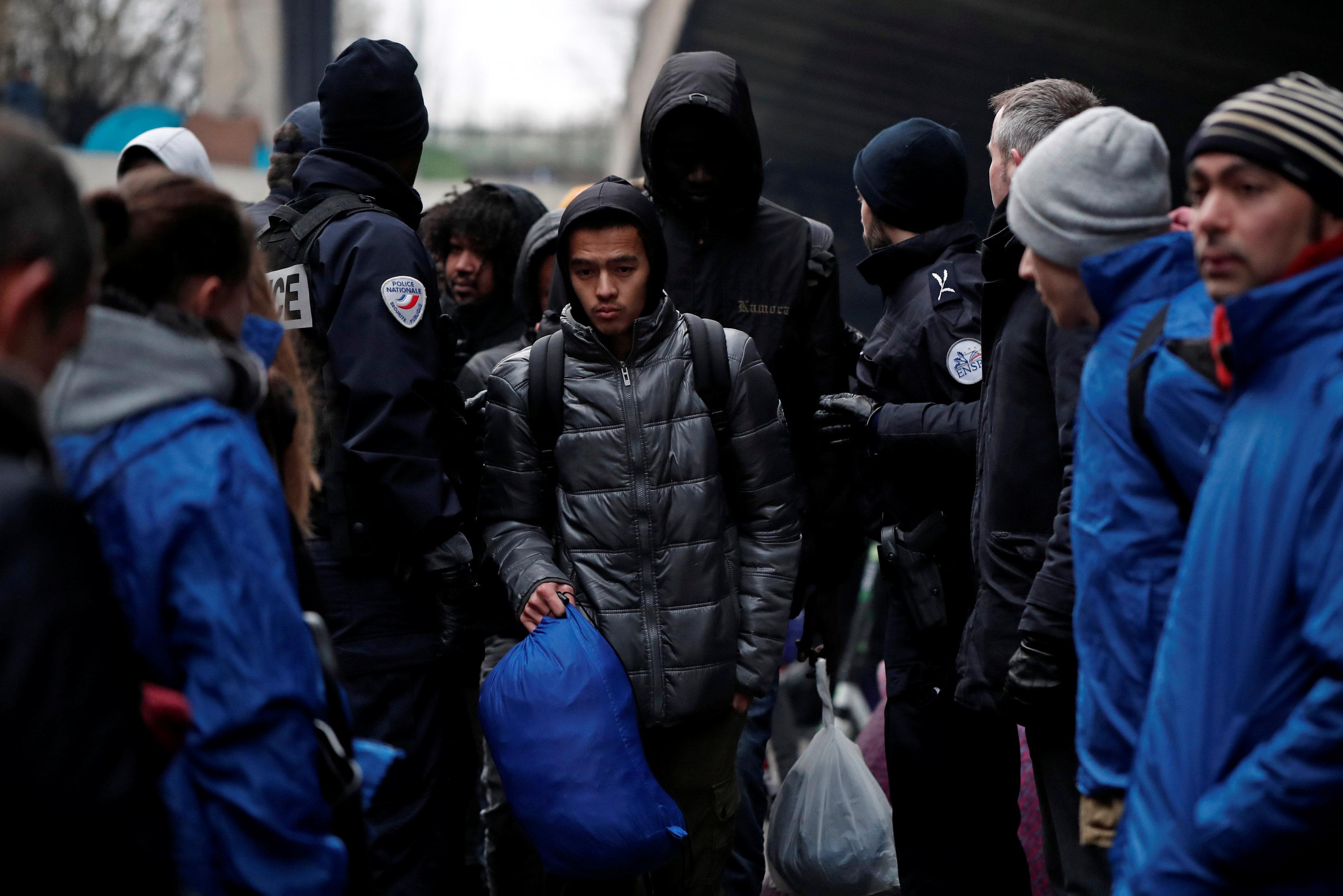 معظم اللاجئين قادمين من أفريقيا وأفغانستان