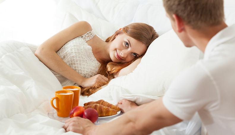 الفطار في السرير