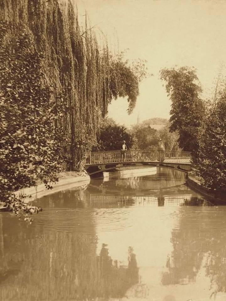 حديقة الأزبكية عام ١٨٨٠