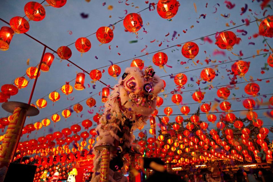 الاحتفال بالابراج الصينية في الصين