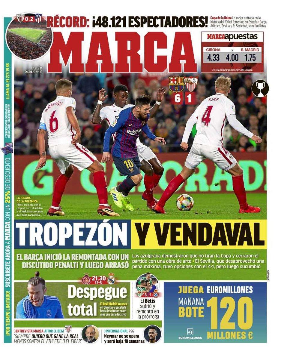 e7a9b1b32e45e برشلونة لا يعرف المستحيل.. مغامرة إشبيلية فى كأس إسبانيا تنتهى ...