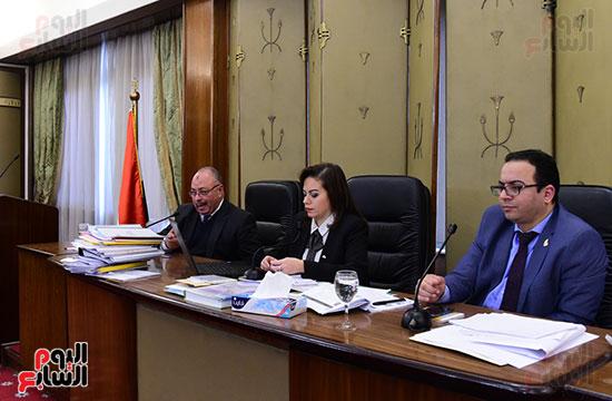 أجتماع اللجنة الفرعية المنبثقة عن لجنة الخطة والموازنة بمجلس النواب  (1)
