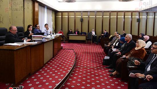 أجتماع اللجنة الفرعية المنبثقة عن لجنة الخطة والموازنة بمجلس النواب  (5)