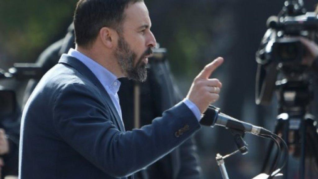 سنتياجو اباسكال زعيم حزب فوكس الاسبانى