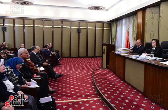 أجتماع اللجنة الفرعية المنبثقة عن لجنة الخطة والموازنة بمجلس النواب  (3)