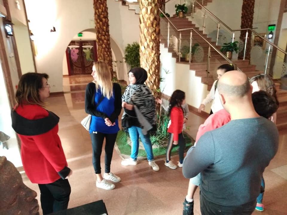 أسرة أول وزير للسد العالى تزور متحف النيل