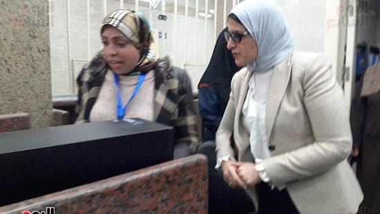 وزيرة الصحة تفتتح وحدتين لطب الأسرة (14)