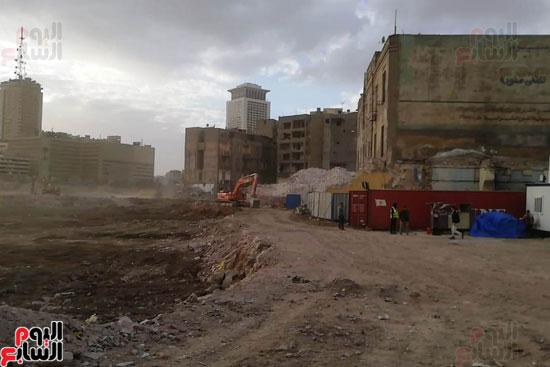 أعمال حفر أثاثات أبراج مثلث ماسبيرو (25)