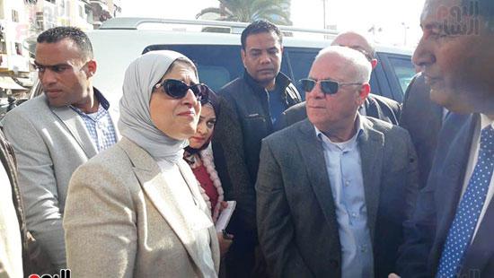 وزيرة الصحة تفتتح وحدتين لطب الأسرة (19)