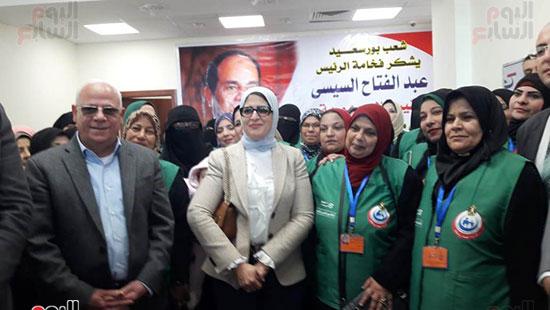 وزيرة الصحة تفتتح وحدتين لطب الأسرة (5)