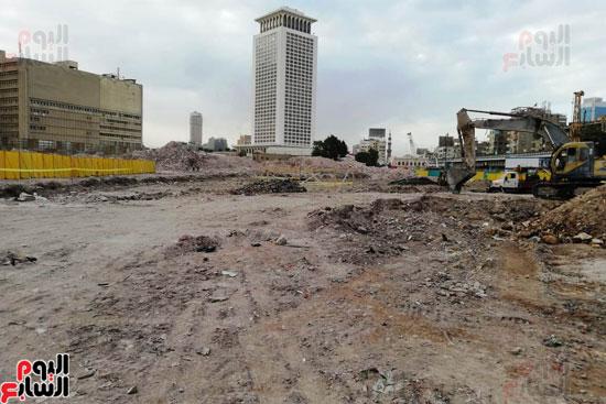 أعمال حفر أثاثات أبراج مثلث ماسبيرو (5)