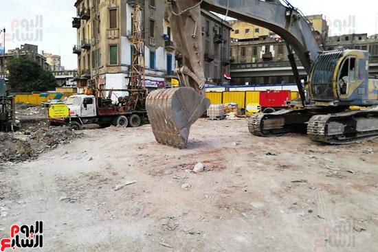 أعمال حفر أثاثات أبراج مثلث ماسبيرو (3)