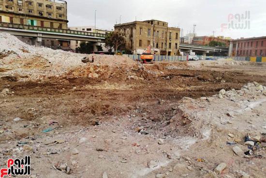 أعمال حفر أثاثات أبراج مثلث ماسبيرو (15)