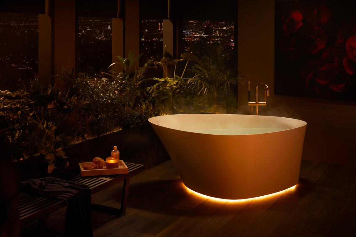 تصميم حوض الاستحمام