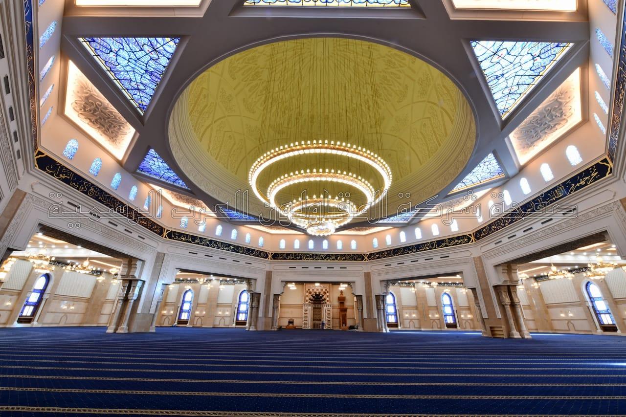 نتيجة بحث الصور عن مسجد الفتاح العليم من الداخل