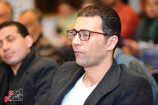 المؤتمر الصحفى لمهرجان المسرح العربى (27)
