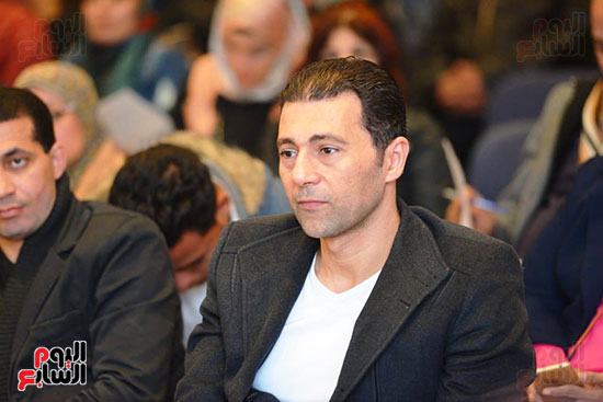 المؤتمر الصحفى لمهرجان المسرح العربى (26)