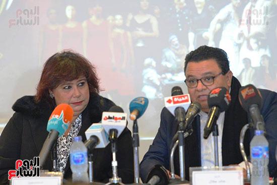 المؤتمر الصحفى لمهرجان المسرح العربى (4)